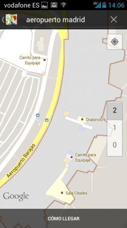 Llegan los mapas de interiores en Google Maps a España 30
