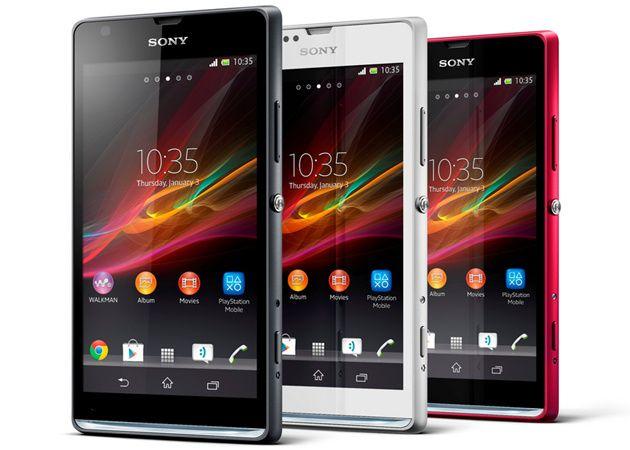 Sony presenta nuevos smartphones Xperia SP y L 30