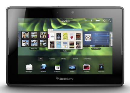 Veremos un tablet BlackBerry OS 10 este año
