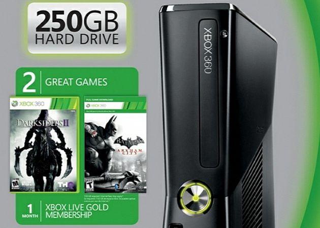 Nuevo pack Xbox 360 con 250 GB y dos juegos 28