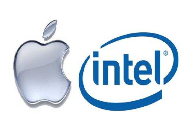 Logos Apple e Intel
