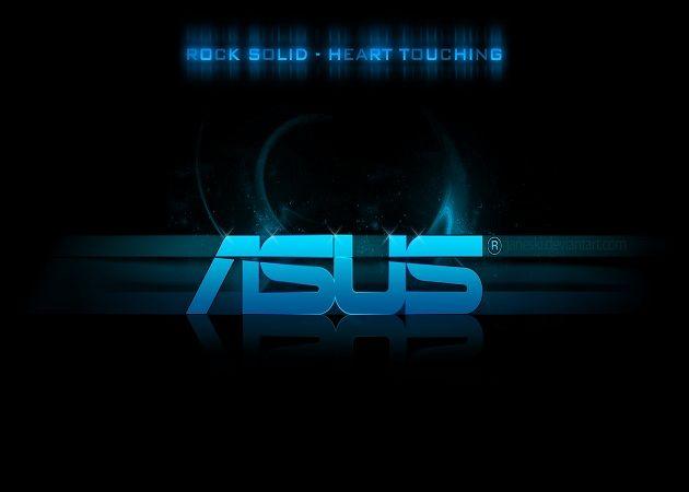 Logo Azul ASUS