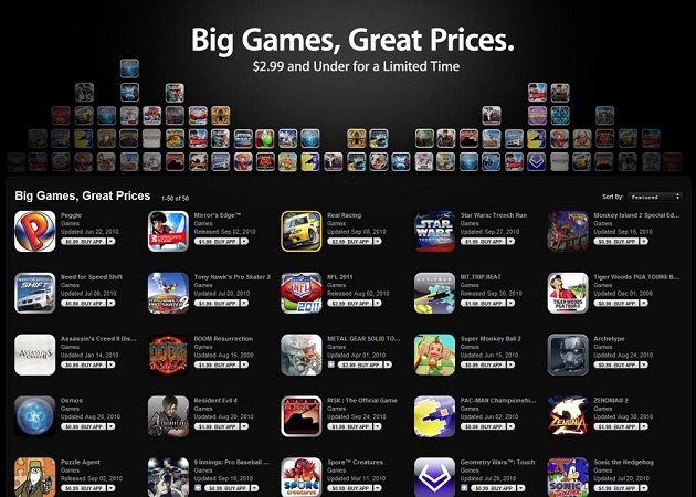 Juegos varios iOS