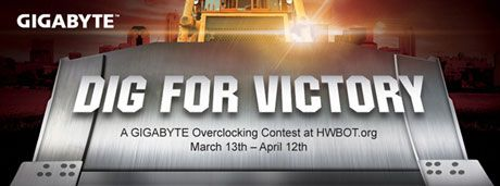 Dig for Victory, concurso de overclock AMD organizado por GIGABYTE