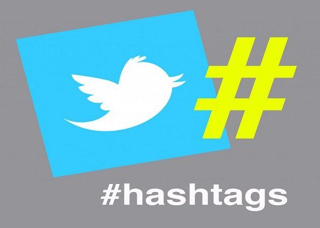 Hashtags twitter