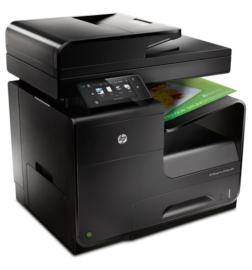 hp officejet pro x576dw multifunction printer angle HP Officejet Pro X576dw MFP