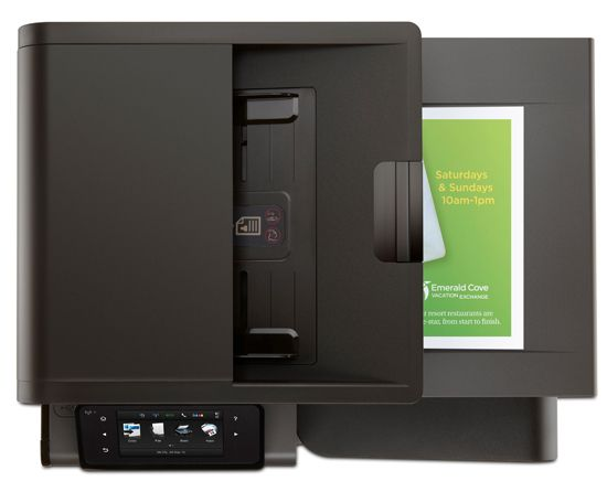 hp officejet pro x576dw multifunction printer top HP Officejet Pro X576dw MFP