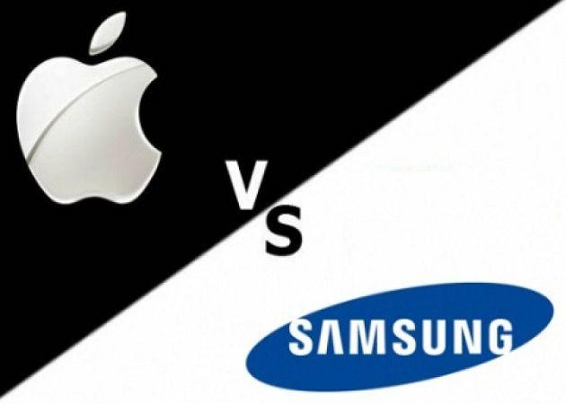 Logo Apple vs Samsung