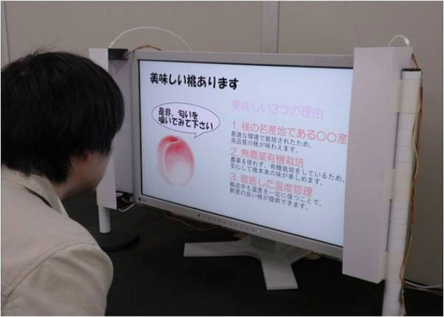 Científicos japoneses desarrollan TV que emite olores