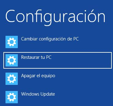 ¿Cómo restaurar tu Ultrabook con Windows 8?