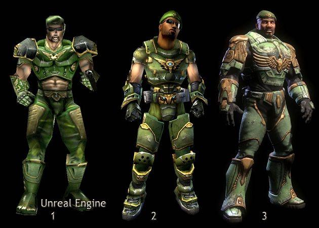 Evolución del Unreal Engine