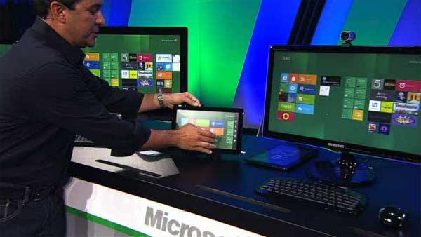 Los PCs táctiles de gama media con Windows 8, bajarán de precio