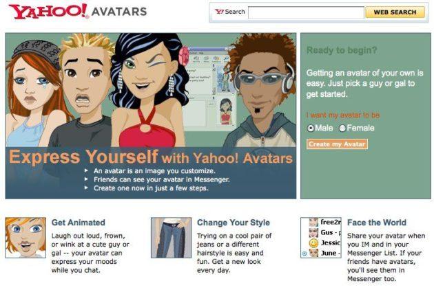 Avatars Yahoo!