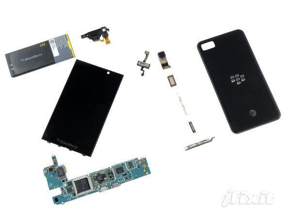 Despiece de BlackBerry Z10 29