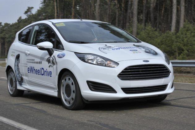 Ford Fiesta eWheelDrive, motores eléctricos en las ruedas 29