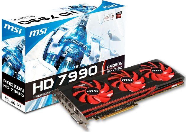 HD 7990 MSI portada