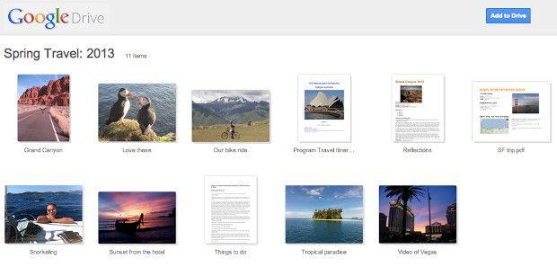 Los directorios compartidos de Google Drive reciben un bonito lavado de cara 28