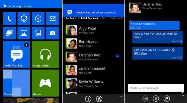img1 Nokia Chat beta