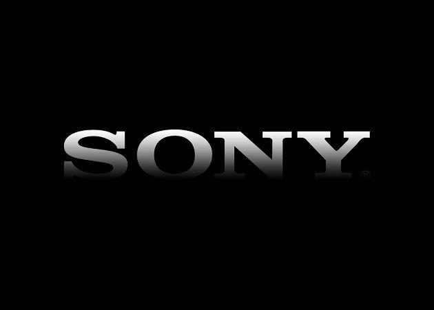 1 negro Sony logo