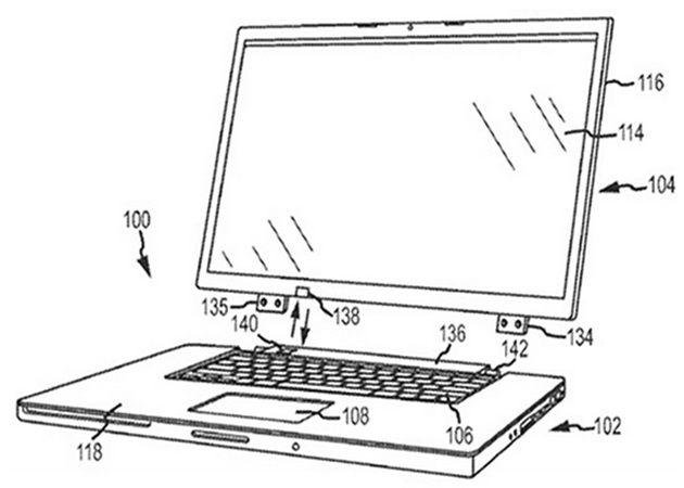 Una patente Apple apunta a un MacBook convertible y táctil 30