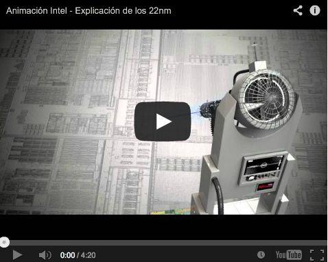 Manufacturing Intel Core 22nm process