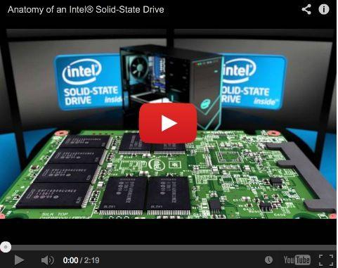 Anatomía de un SSD Intel