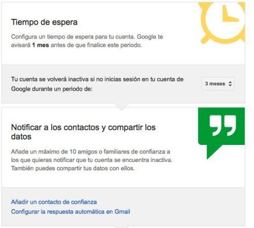 Decide qué pasará con tu cuenta Google / Gmail después de muerto 31