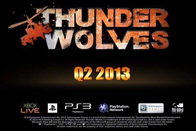 Tráiler de Thunder Wolves, próximo arcade-shooter de helicópteros