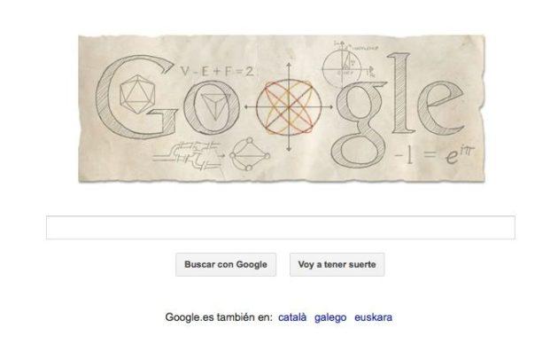Google homenajea a Euler con su nuevo Doodle animado 38