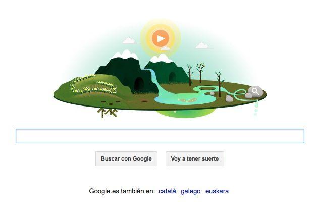 Google celebra el Día de la Tierra con su Doodle animado