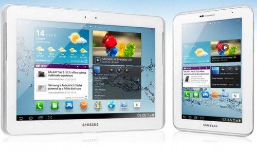 Galaxy Tab 3 de 10 y 8 pulgadas, filtradas 30