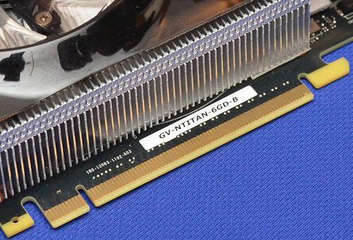 Gigabyte GTX Titan WindForce 3X 3 Gigabyte prepara GeForce TITAN con diseño personalizado