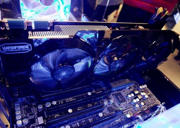 Gigabyte GTX Titan WindForce 3X Gigabyte prepara GeForce TITAN con diseño personalizado