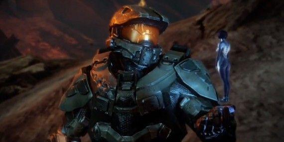 Cortana y Jefe Halo 4