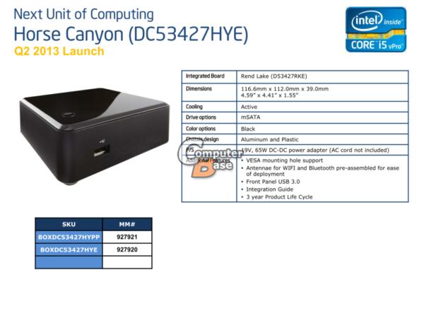 Intel NUC Core i7, máxima potencia en mínimo espacio 30