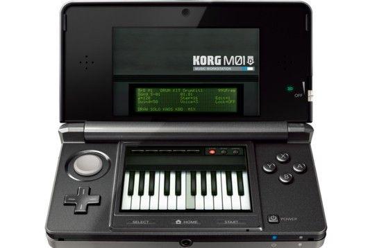 Crea música desde Nintendo 3DS con Korg M01D 30