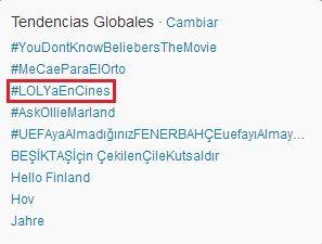 Miley Cyrus marca tendencia en España vía Twitter 34