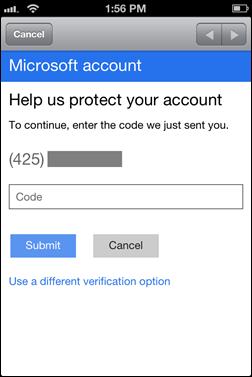 Microsoft implementa la doble autenticación en sus cuentas 30