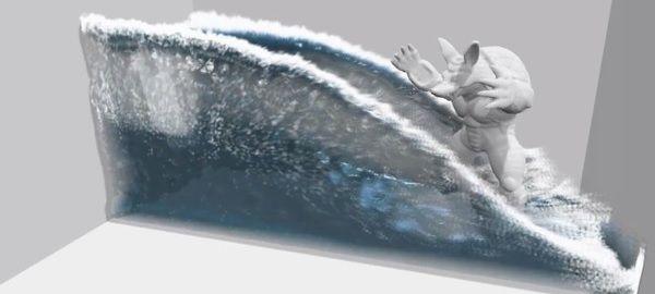 Demo tecnológica de renderizado en tiempo real de agua: IMPRESIONANTE