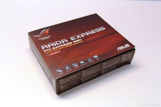 Primeros detalles de ASUS ROG RAIDR Express, SSD PCIe de alto rendimiento 29