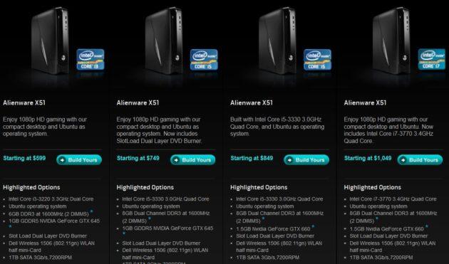 X51 imagen Alienware