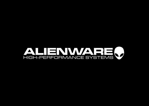 Negro logo Alienware