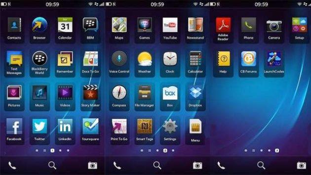 Prueba BlackBerry OS 10 desde tu iPhone / Android 31