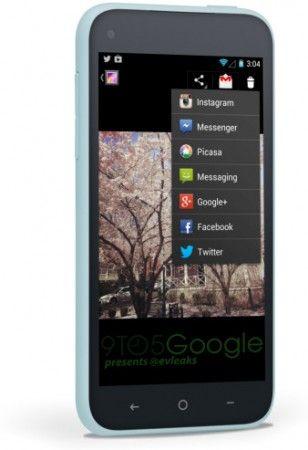 Más imágenes y posibles especificaciones del Facebook Phone 32