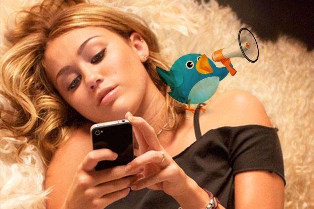 Miley Cyrus marca tendencia en España vía Twitter
