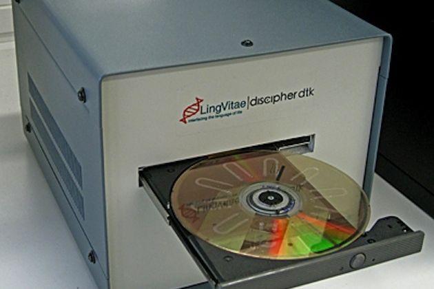 Unidad de DVD modificada permite analizar sangre económicamente 30