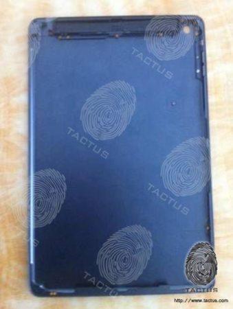 iPad 5 carcasa azul filtrada