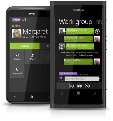 Viber llegará a Windows Phone 8 esta semana