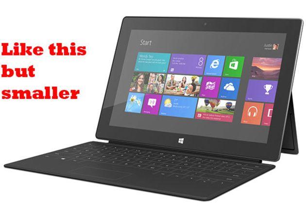 Microsoft anuncia tablets pequeños y baratos con Windows 8 33