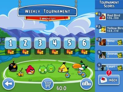 Angry Birds Friends para iOS y Android, 2 de mayo 31